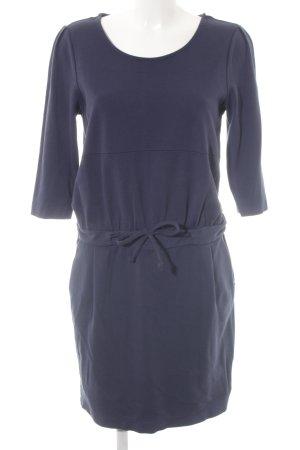 Cyrillus Jerseykleid blau Casual-Look