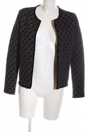 Cyrillus Short Blazer black-gold-colored allover print elegant