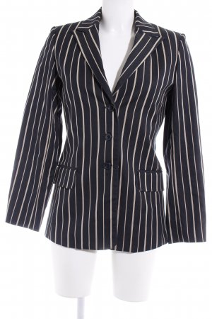 Cyrillus Long-Blazer Streifenmuster Business-Look