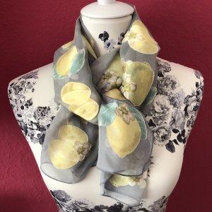 Cyrillus Bufanda de seda multicolor tejido mezclado