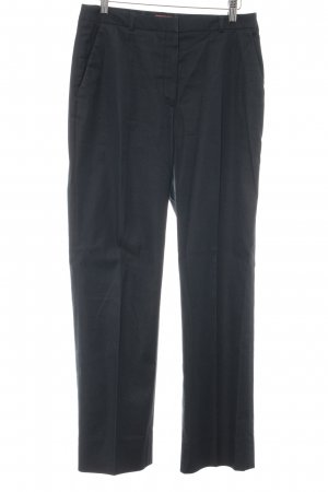 Cyrillus Jersey Pants dark blue casual look