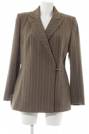 Cyrillus Wool Blazer striped pattern rider style