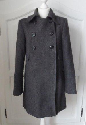 CYRILLUS Woll Mantel Gr. 40 Grau Anthrazit nur 2 x getragen