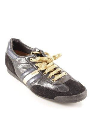 D'Acquasparta Zapatos brogue estampado a rayas estilo extravagante