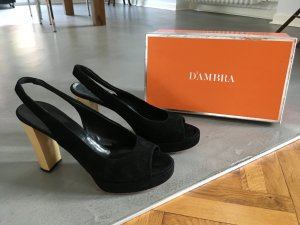 D'ambra Wildleder Pumps in 41.