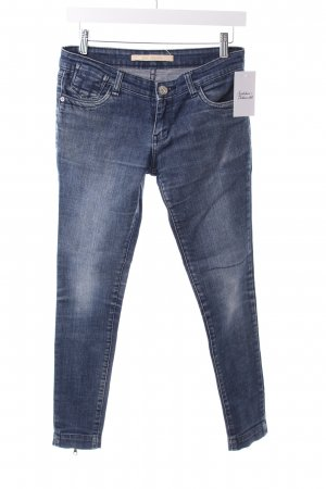 D-Blues Skinny Jeans blau Washed-Optik