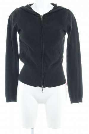 D.C.C. Giacca fitness nero stile casual
