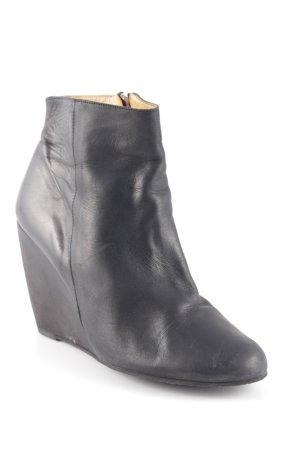 d. Co Copenhagen Reißverschluss-Stiefeletten schwarz klassischer Stil