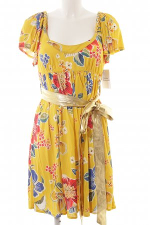 D&G Robe Babydoll motif de fleur style décontracté
