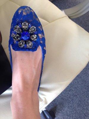 D&G Ballerinas mit floraler Spitze