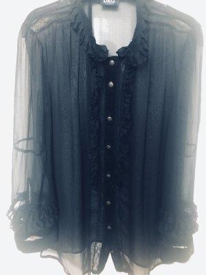Dolce & Gabbana Silk Blouse black