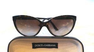 D & G  Cat eye Sonnenbrille von Dolce & Gabbana mit Logo inklusive Etui