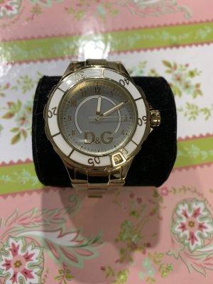 Dolce & Gabbana Reloj con pulsera metálica color oro