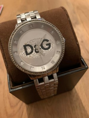 Dolce & Gabbana Watch With Metal Strap silver-colored