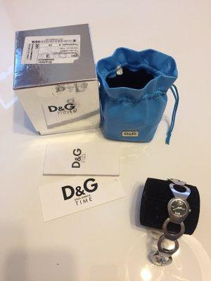 D&G Damenuhr silber