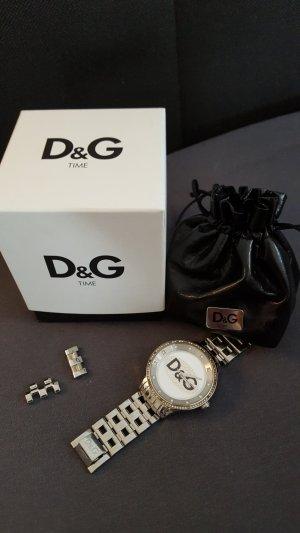 D&G Damenuhr, silber