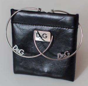 D&G Dolce & Gabbana ~ DAMEN OHRRINGE CREOLEN ORIGINAL