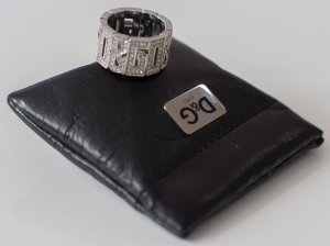 D&G Dolce & Gabbana ~ DAMEN RING 17,5mm ORIGINAL