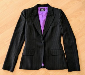 Dolce & Gabbana Trouser Suit black mixture fibre