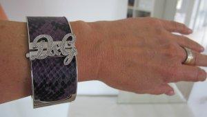 """""""D&G"""" DOLCE & GABBANA  Edelstahl-Armreif / Spangenuhr TOP!! NP ca. 300,-€"""