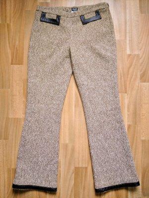 Dolce & Gabbana Woolen Trousers multicolored mixture fibre