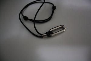 D&G Hanger zwart Edelstaal