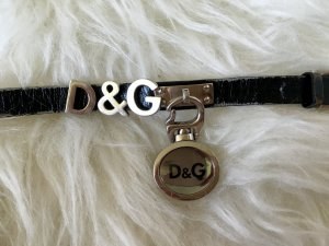 D&G Dolce&Gabbana Lederarmband mit Uhr