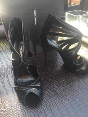 Dolce & Gabbana High Heel Sandal black