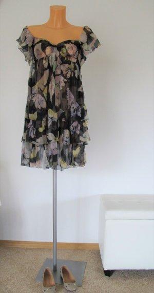 D&G Dolce & Gabbana Seidenkleid Gr. 36/38 NP 839,-€ !! Top Zustand