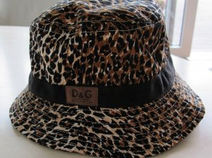 Dolce & Gabbana Sun Hat brown