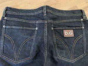 Dolce & Gabbana Straight Leg Jeans grey