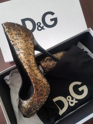 Dolce & Gabbana Tacones altos multicolor