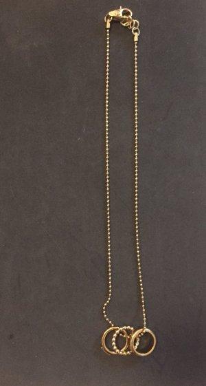 D&G Kette Edelstahl gold