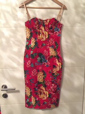 D&G Kleid in rot mit Muster
