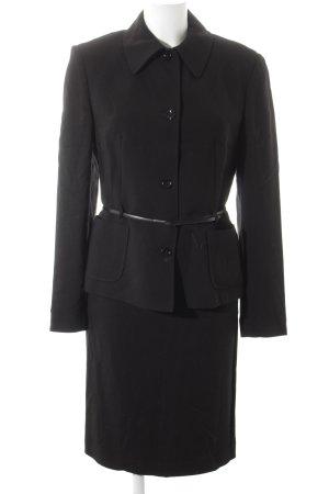 Dolce & Gabbana Tailleur noir style rétro