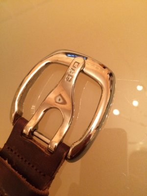 D&G Leather Belt brown leather