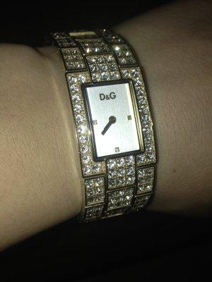 D&G neuwertige Uhr fast garrnich getragen keine Kratzer und alle Steine sind neu