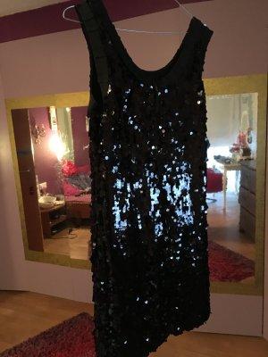 D&G Paillettenkleid schwarz