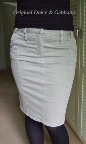 D&C Stretch Skirt multicolored