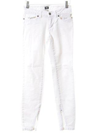 D&G Röhrenhose weiß schlichter Stil