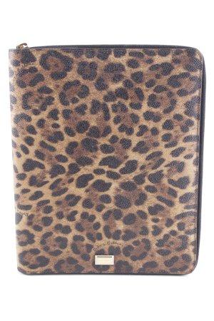 D&G Borsa block notes Stampa leopardata impronta animale