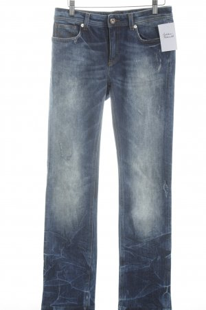 D&G Slim Jeans blau-kornblumenblau Casual-Look