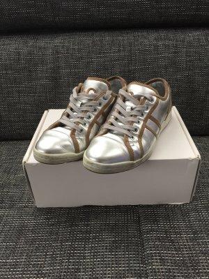D&G Sneaker Silber/beige Gr.38