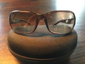 D&G Sonnenbrille, braun, gebogen