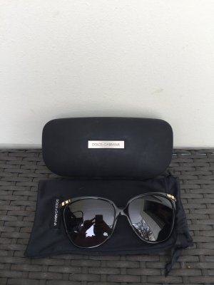Dolce & Gabbana Sunglasses black-gold-colored