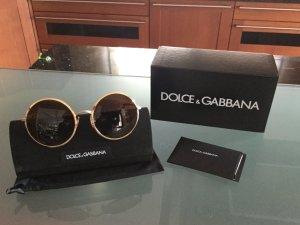 D&G Sonnenbrille gold/braun