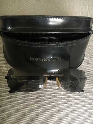 D&C Glasses black synthetic material