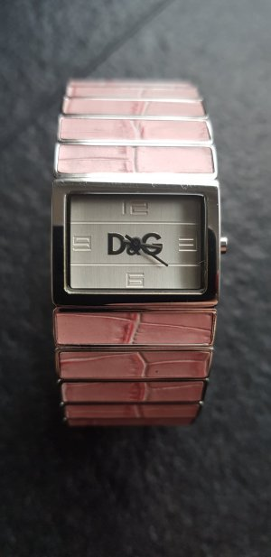 Dolce & Gabbana Watch silver-colored-light pink