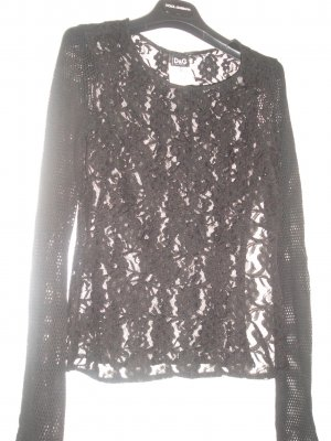 D&G Spitzentop Semi-transparent