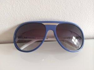 Dolce & Gabbana Lunettes de soleil blanc-bleu
